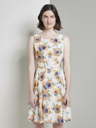 TOM TAILOR Kleid in beige / mischfarben, Modelansicht
