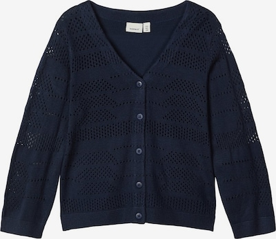 NAME IT 3/4-Ärmel Strick Strickjacke in navy, Produktansicht