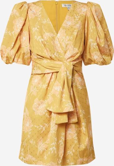 Forever New Kleid 'Esme' in gelb / weiß, Produktansicht