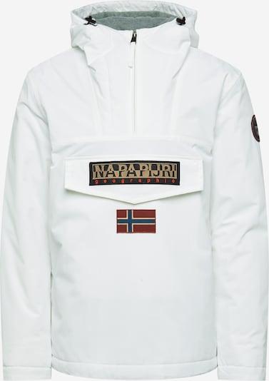 NAPAPIJRI Prechodná bunda - béžová / biela, Produkt