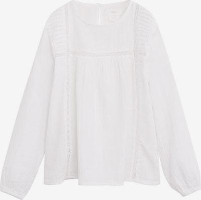 MANGO KIDS Hemd 'alan' in weißmeliert, Produktansicht
