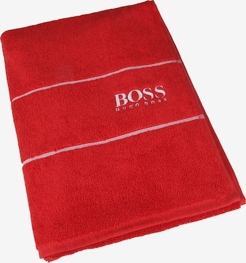 BOSS Home Towel 'Plain' in Red