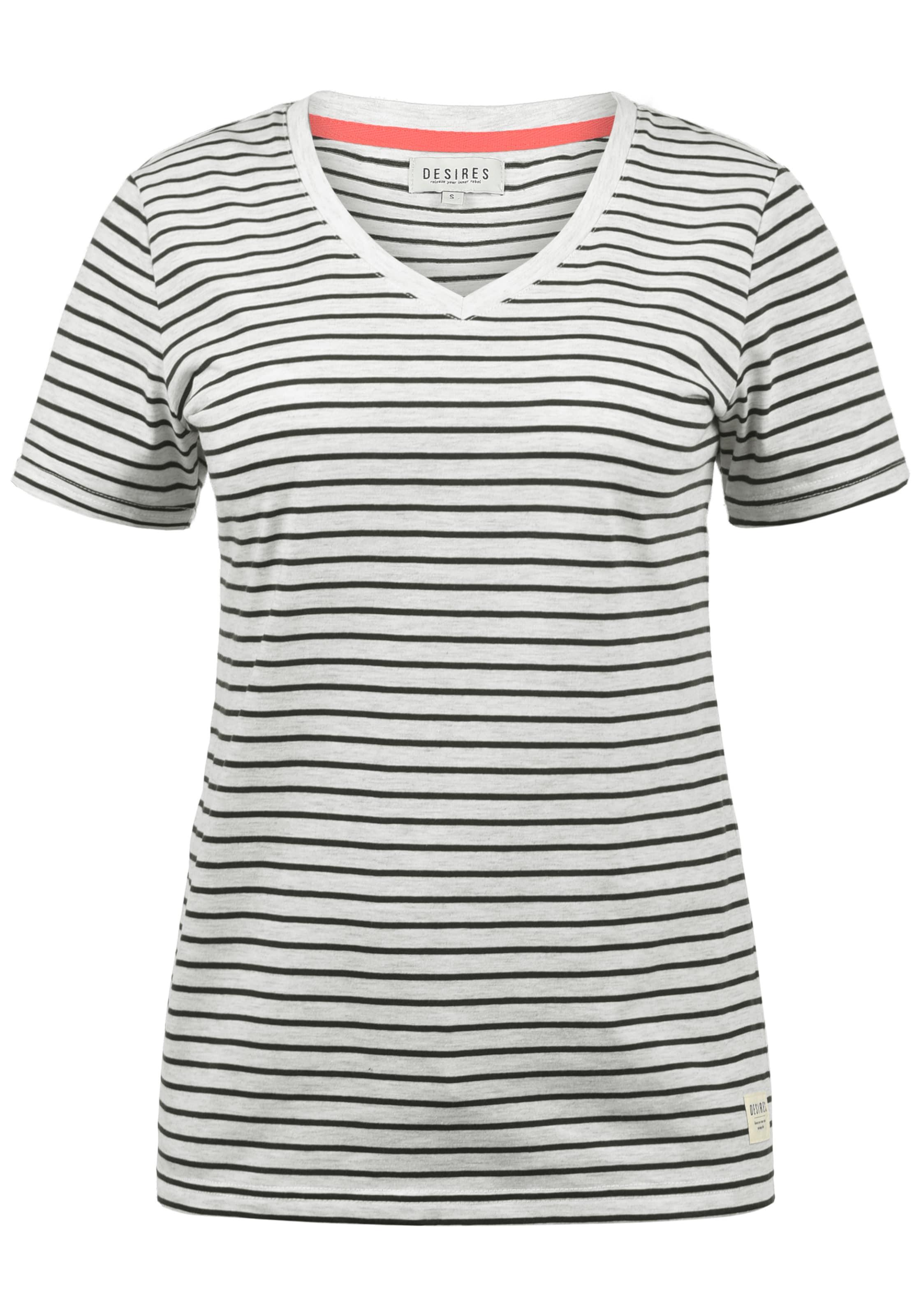 T In Desires SchwarzWeiß 'melina' shirt q4L3R5Aj