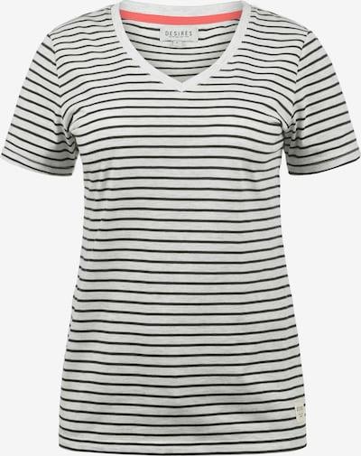 Desires T-Shirt 'Melina' in schwarz / weiß, Produktansicht