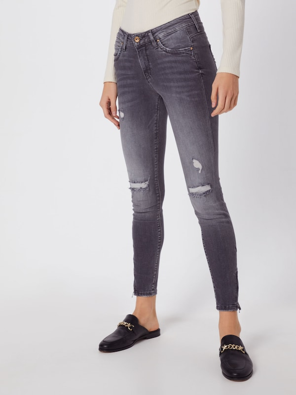 ONLY Jeans in grey denim, Modelansicht