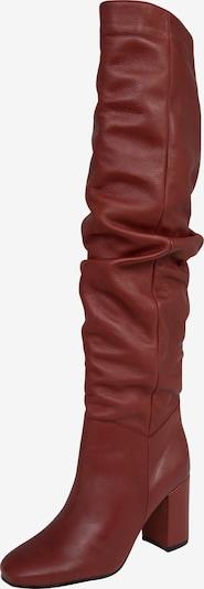 Ilgaauliai batai virš kelių 'Martje' iš EDITED , spalva - raudona, Prekių apžvalga