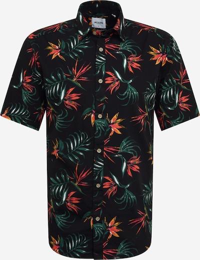Only & Sons Overhemd in de kleur Groen / Pink / Zwart, Productweergave