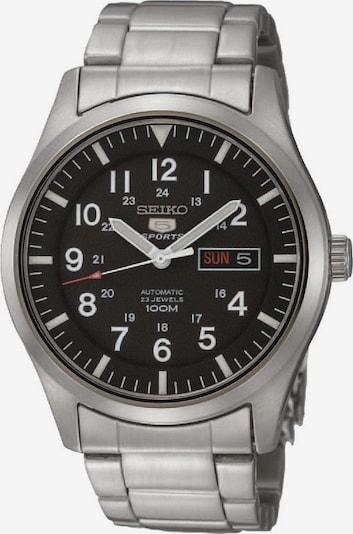SEIKO Uhr in rot / schwarz / silber, Produktansicht