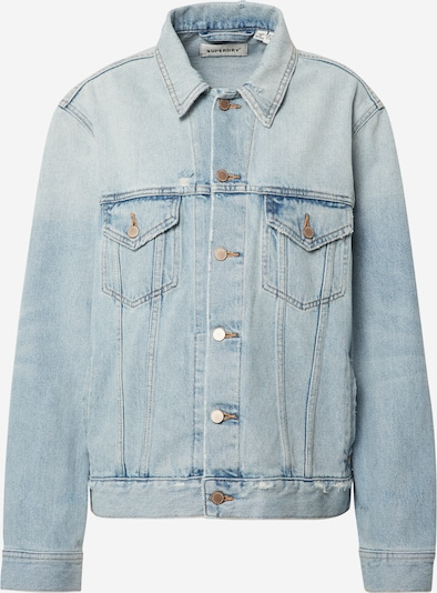 Superdry Jacke  'Boyfriend Trucker' in blue denim, Produktansicht