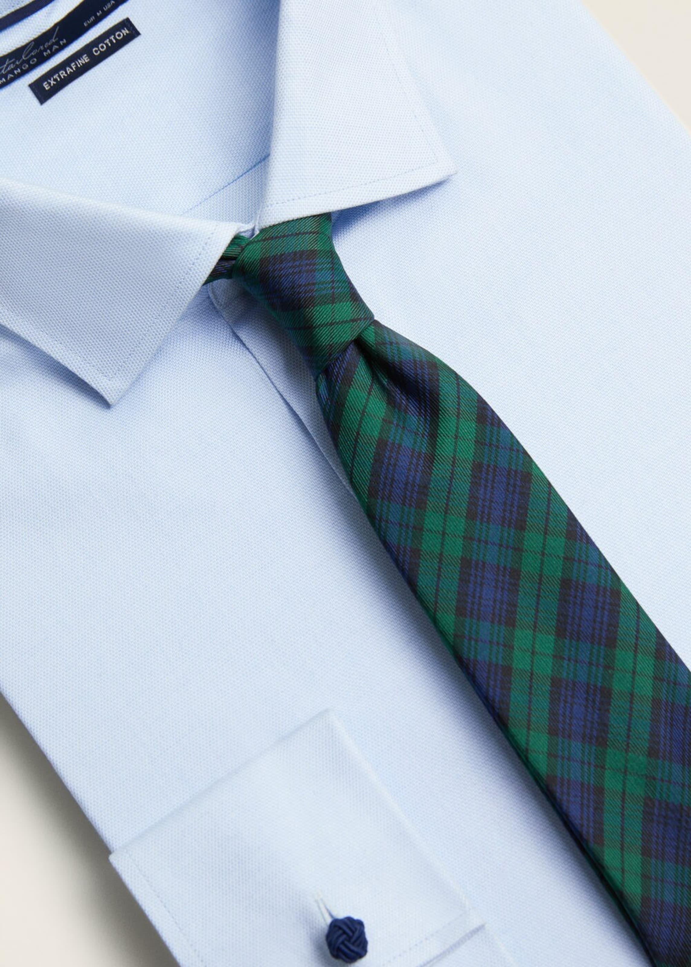 Man 'p Grün Mango e In Krawatte Check' WEDH9Y2I
