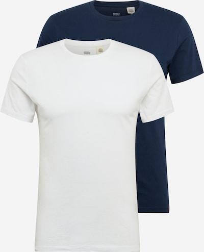 LEVI'S T-Shirt in dunkelblau / weiß, Produktansicht