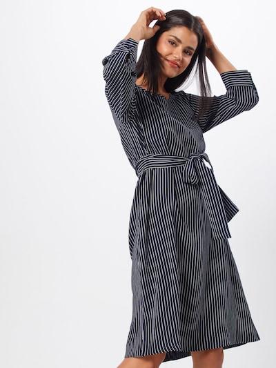 CINQUE Kleid 'CIDOC' in dunkelblau / weiß, Modelansicht