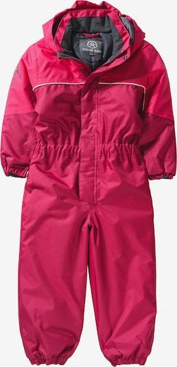 COLOR KIDS Schneeanzug 'KAZOR' in grau / pink, Produktansicht