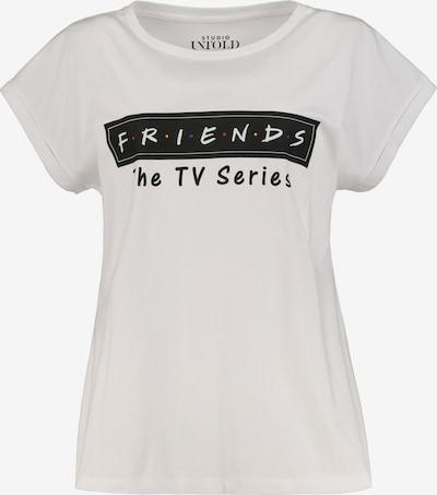 Studio Untold Shirt ' Friends' in weiß, Produktansicht