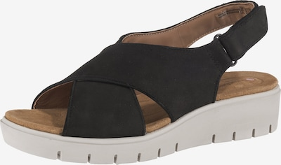 CLARKS Sandale 'Karely Sun' in schwarz, Produktansicht