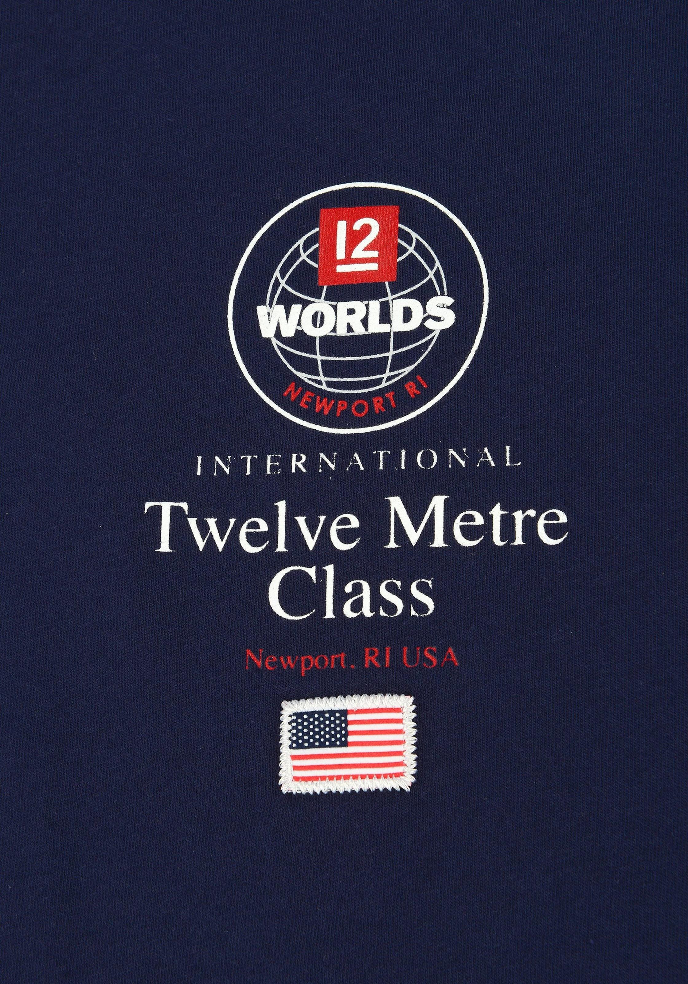 zero Dunkelblau 'ss 12m In Rhode BlauUltramarinblau shirt Code Island' T trCQsdh