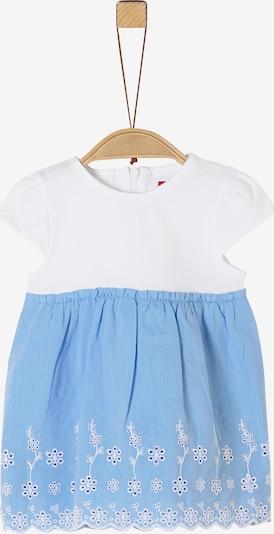 s.Oliver Kleid in blau / weiß, Produktansicht