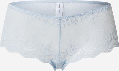 Samsoe Samsoe Panty 'Cibbe panties 7092' in hellblau / weinrot, Produktansicht