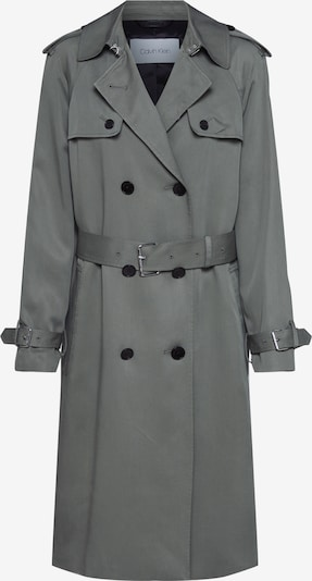 Calvin Klein Mantel 'TRANSSEASONAL LS TRENCH COAT' in khaki, Produktansicht