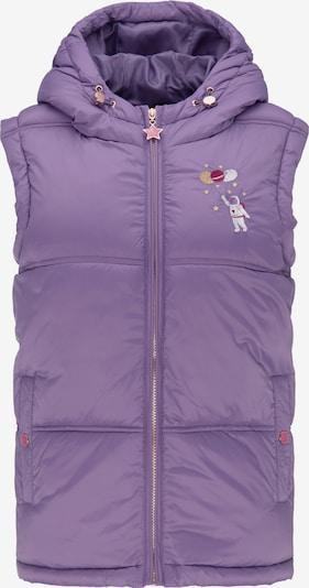MYMO Gilet en violet clair, Vue avec produit