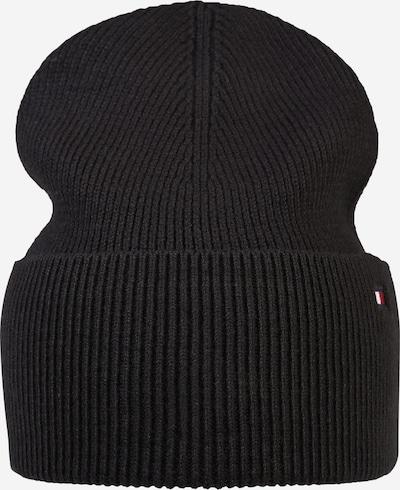 TOMMY HILFIGER Mütze 'ESSENTIAL' in schwarz, Produktansicht