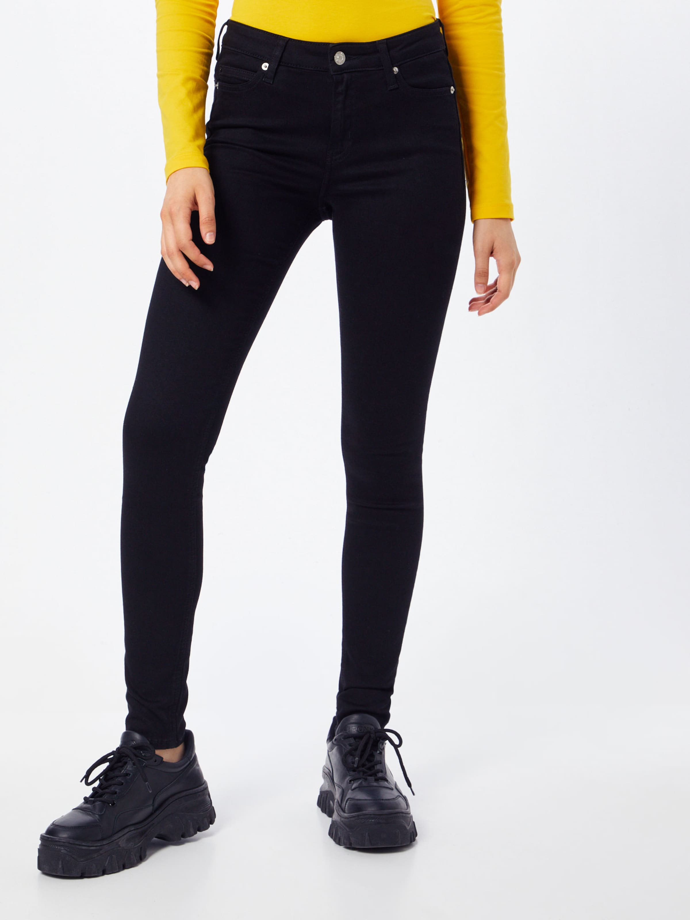 Calvin 001 In Klein 'ckj Super Jeans Schwarz Skinny' N8PX0kwOn