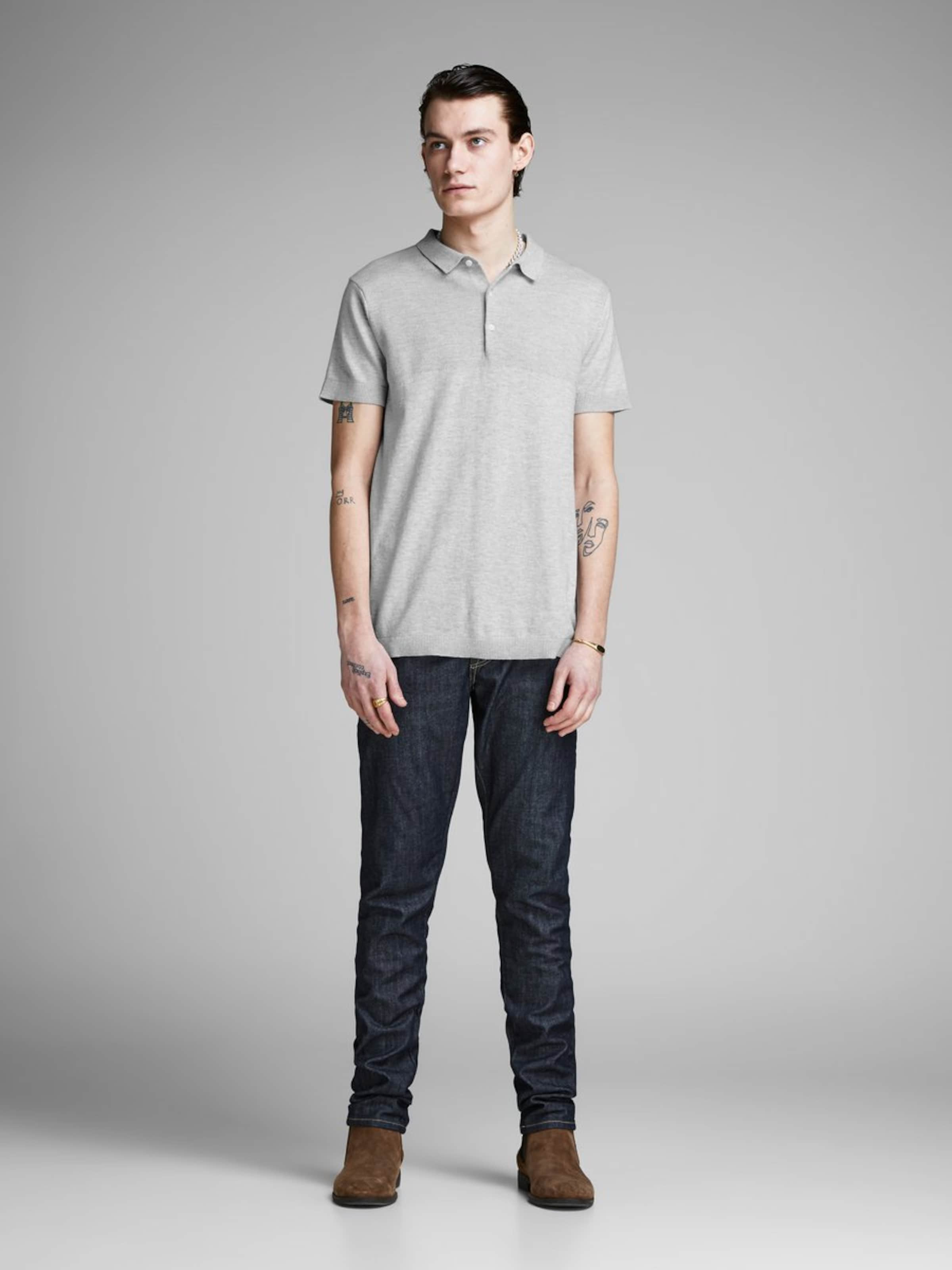 shirt Jones Jackamp; T Gris En Clair wPOk0n