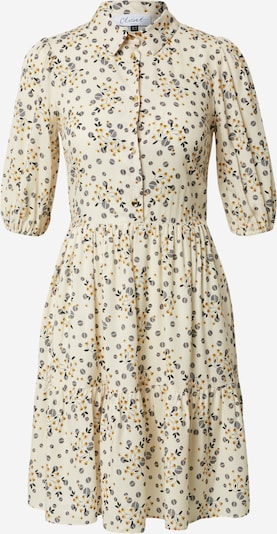 Closet London Robe 'Closet Gathered Shirt Dress' en beige / mélange de couleurs, Vue avec produit