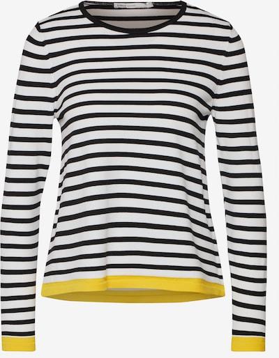 ONLY Pullover 'SUZANA' in gelb / schwarz / weiß, Produktansicht