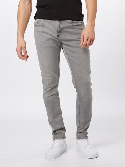 Urban Classics Kavbojke 'Relaxed Fit Jeans' | siv denim barva: Frontalni pogled
