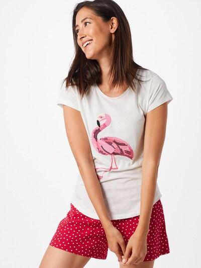 Hailys Shirt 'Ella' in pink / weiß: Frontalansicht