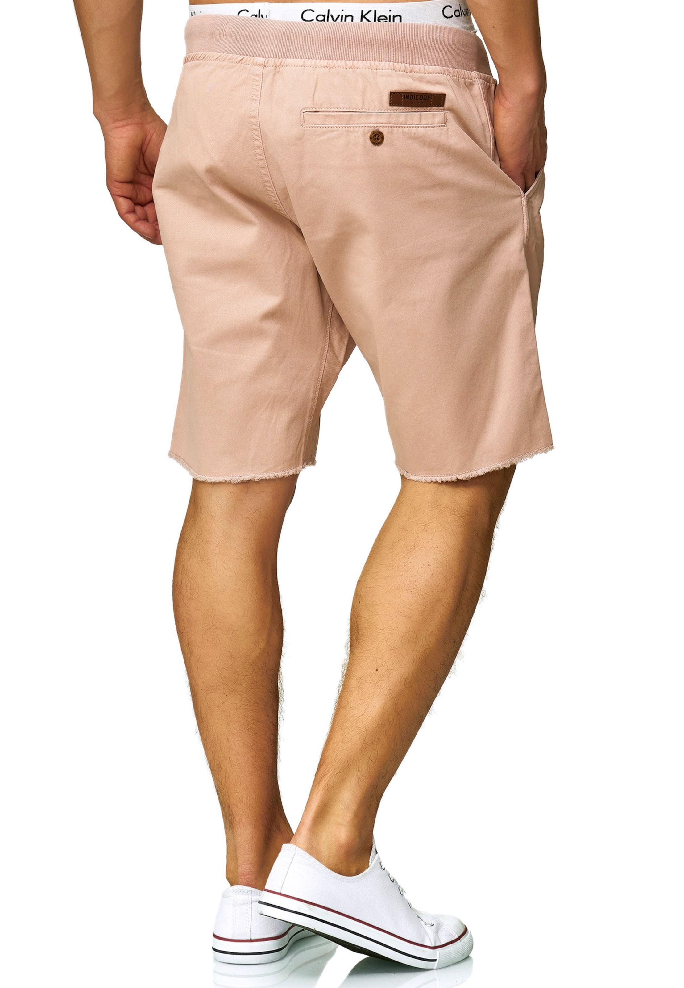 Rose En Ancienne Indicode Pantalon 'carver' Chino Jeans uPkiZX