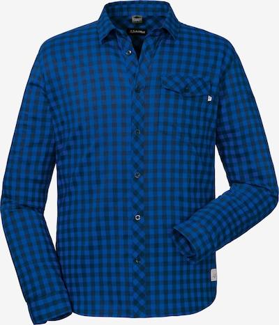 Schöffel Hemd 'Miesbach' in blau / nachtblau: Frontalansicht