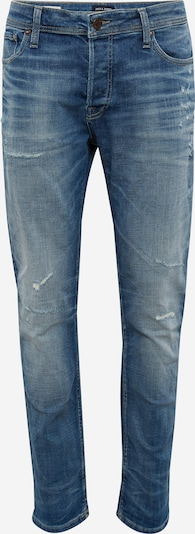 JACK & JONES T-Shirt 'JJITIM JJORIGINAL JJ 062 AW24 NOOS' in blue denim, Produktansicht