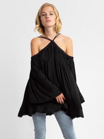 APART Blusenshirt in schwarz, Modelansicht