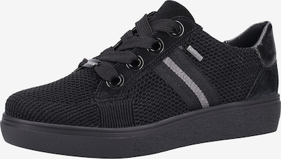 ARA Sneakers laag in de kleur Zwart / Zilver, Productweergave