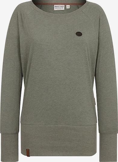 naketano Sweat-shirt 'Groupie' en gris, Vue avec produit