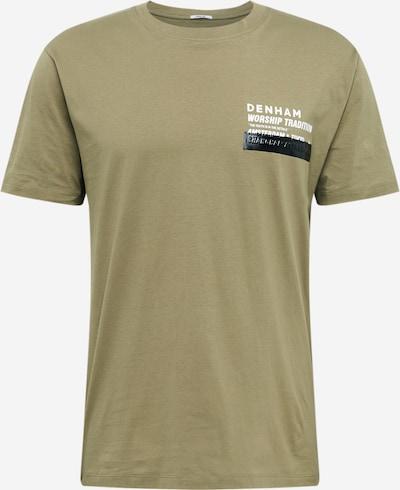 DENHAM T-Shirt 'WORSHIP' en kaki, Vue avec produit