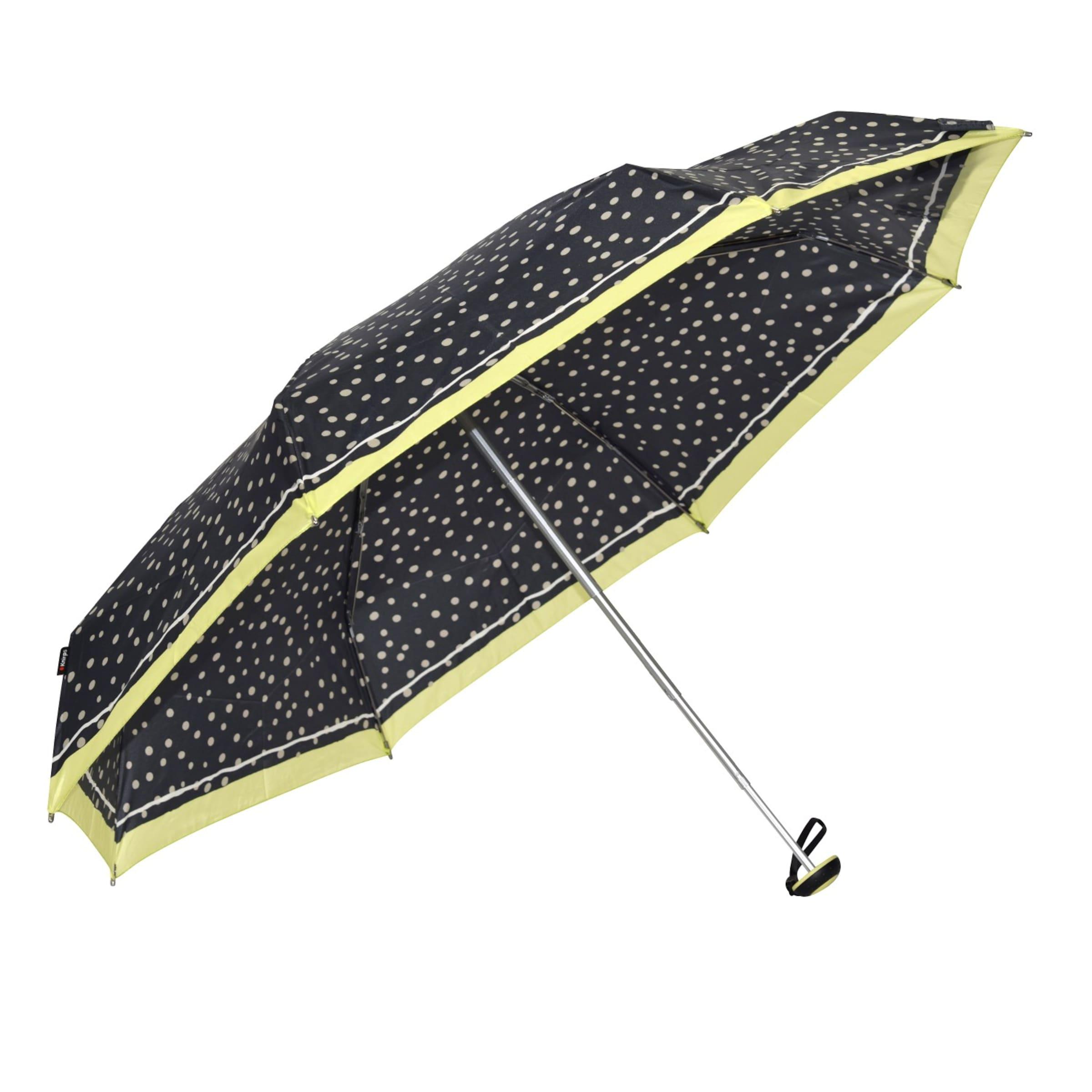 Knirps 'manual En Vert Noir X1' ChampagneCitron Parapluie IgvmYf76yb