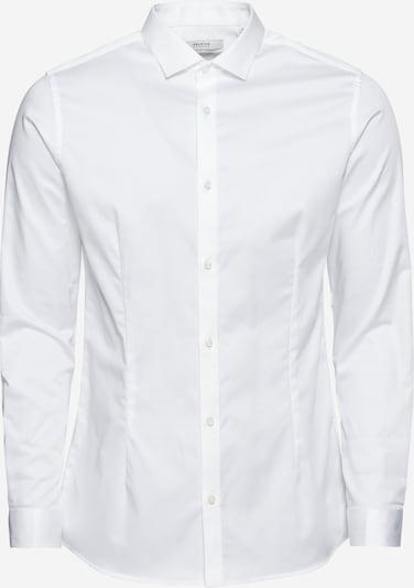 Cămaşă business 'jjprPARMA SHIRT L/S NOOS' JACK & JONES pe alb, Vizualizare produs