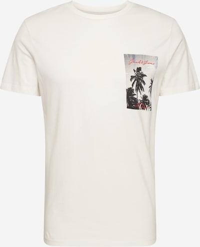 JACK & JONES Shirt 'JORHOLIDAZ TEE SS CREW NECK' in offwhite, Produktansicht