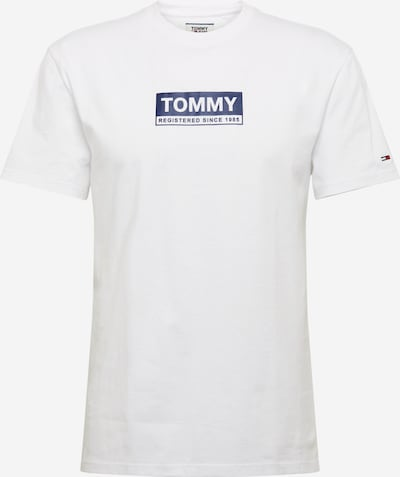 Tommy Jeans Shirt in de kleur Donkerblauw / Wit, Productweergave