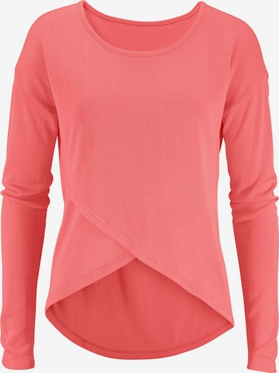 LASCANA Strandpullover in pink, Produktansicht