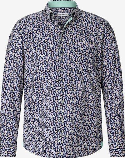 Shirtmaster Chemise 'Oxfordgems' en bleu marine / mélange de couleurs, Vue avec produit