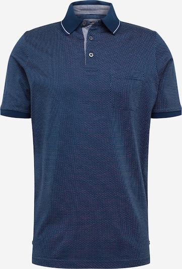 FYNCH-HATTON Poloshirt in dunkelblau / weiß, Produktansicht