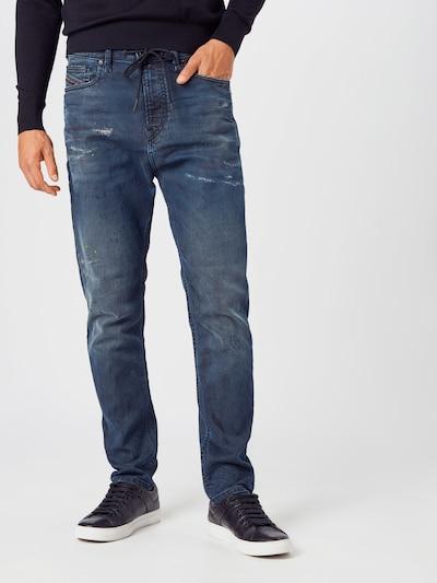 DIESEL Jeans 'VIDER' in blue denim, Modelansicht