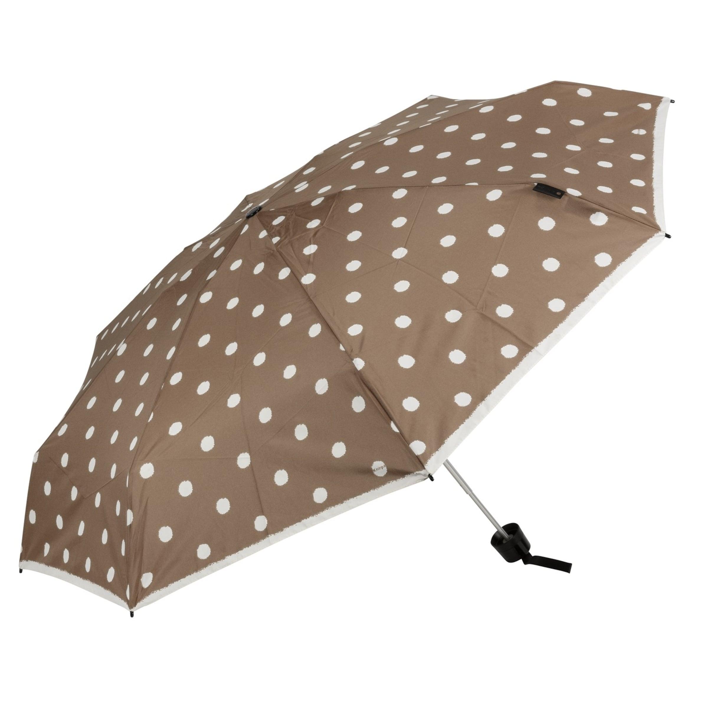 't Manual' Parapluie En 010 BeigeNoisette Knirps Small CxoWrdBe
