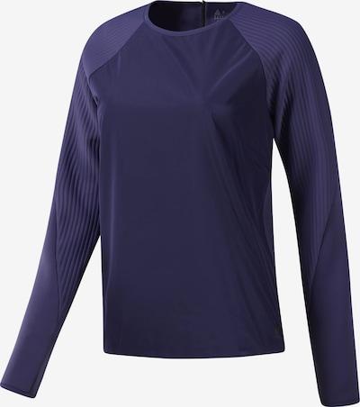 REEBOK Trainingssweatshirt in dunkellila, Produktansicht