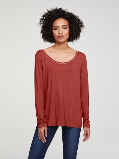 Marškinėliai iš heine , spalva - karmino raudona: Vaizdas iš priekio