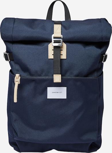 SANDQVIST Batoh 'ILON' - béžová / modrá, Produkt
